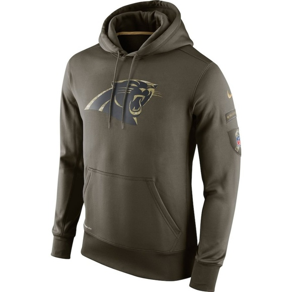new product 1c47d edd94 Nike NFL Salute to Service Carolina Panthers